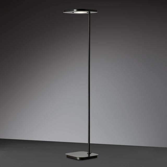 wofi Etana LED Stehleuchte mit Dimmer und Farbtemperatur einstellbar, 2-flammig