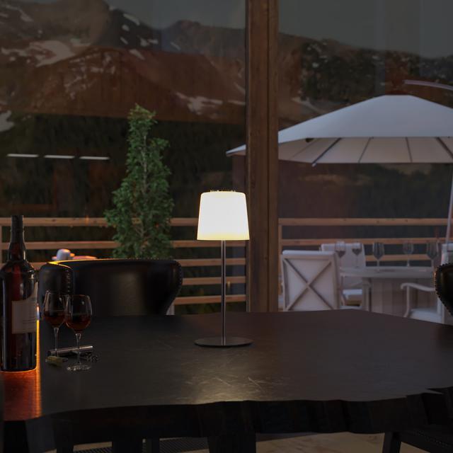 wofi Genk USB LED Tischleuchte mit Dimmer