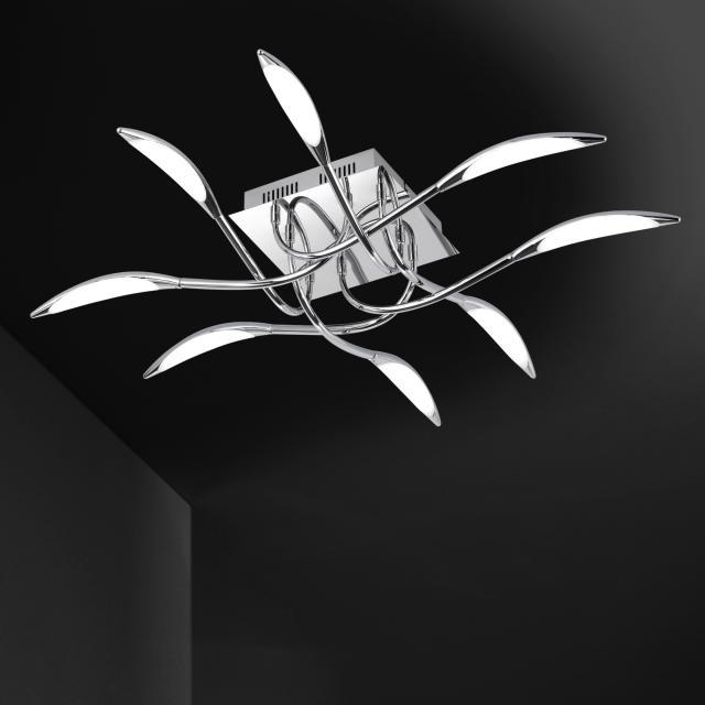 wofi Hampton LED Deckenleuchte 8-flammig
