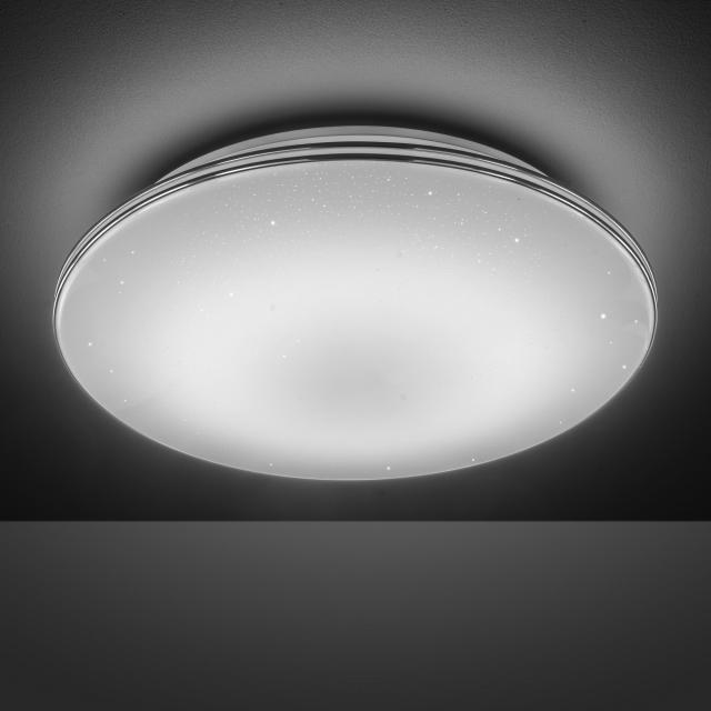 wofi Impress LED Deckenleuchte mit Dimmer und Farbtemperatur einstellbar