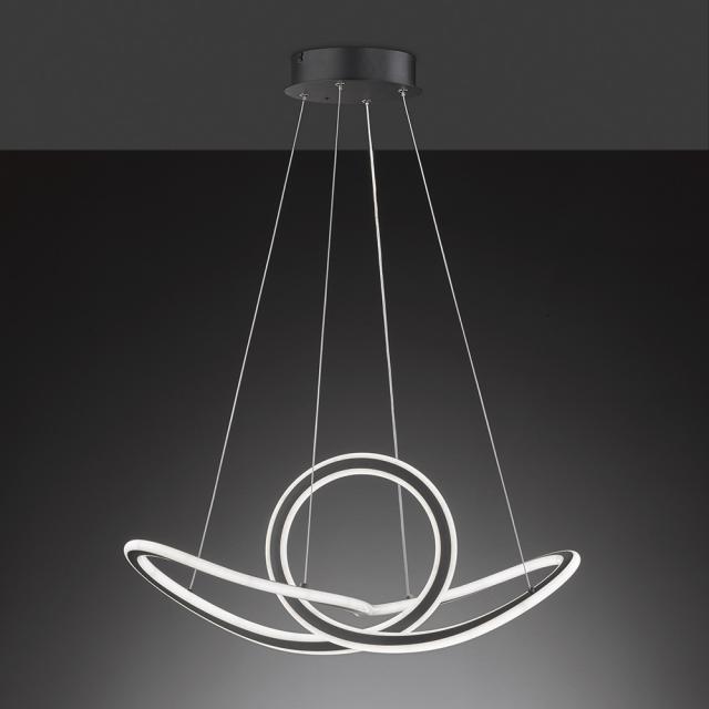 wofi Madison LED Pendelleuchte mit Dimmer und CCT