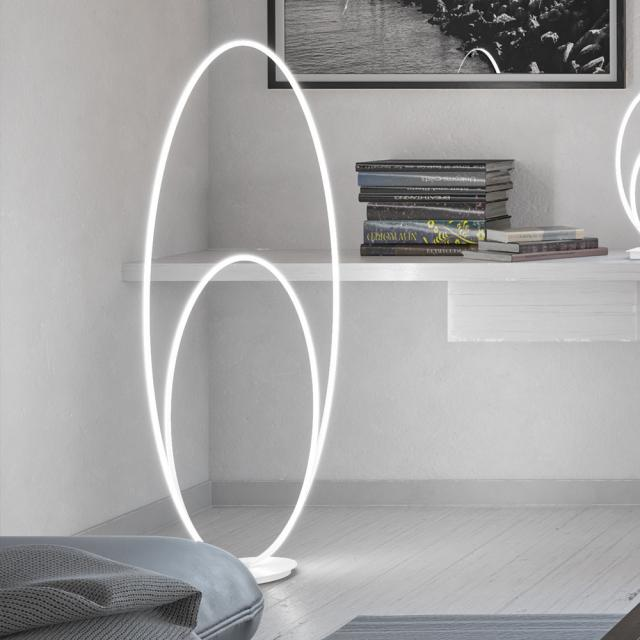 wofi Nia LED Stehleuchte mit Dimmer