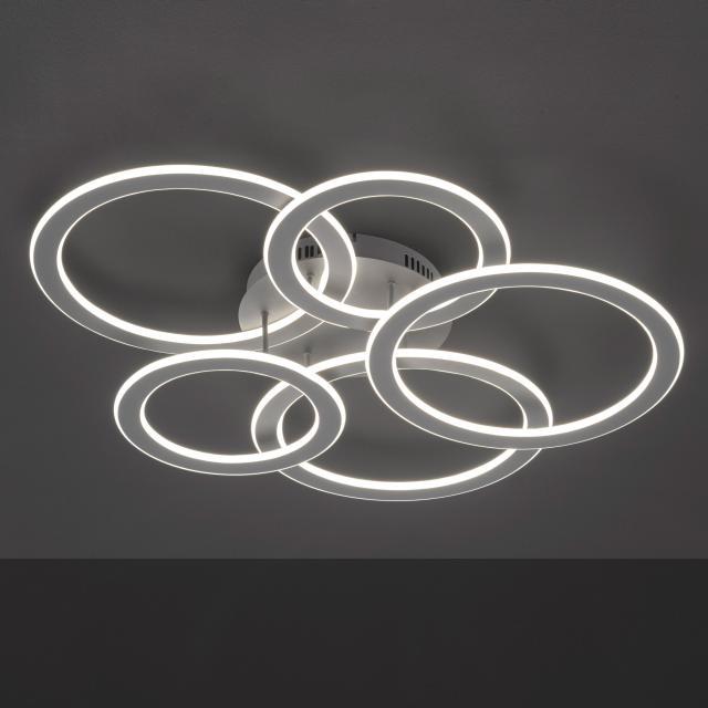 wofi Ohio/Serie 956 LED Deckenleuchte, 5-flammig
