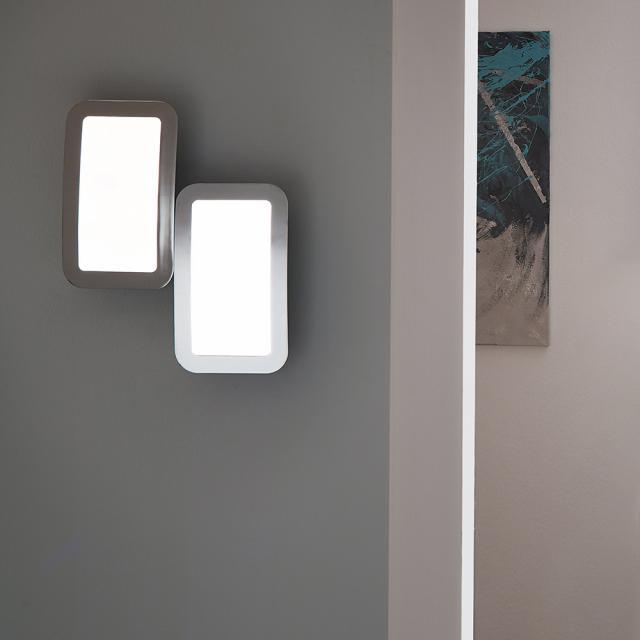wofi Saga LED Wandleuchte mit Dimmer