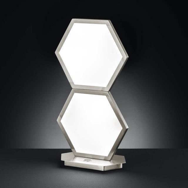 wofi Signe LED Tischleuchte mit Dimmer