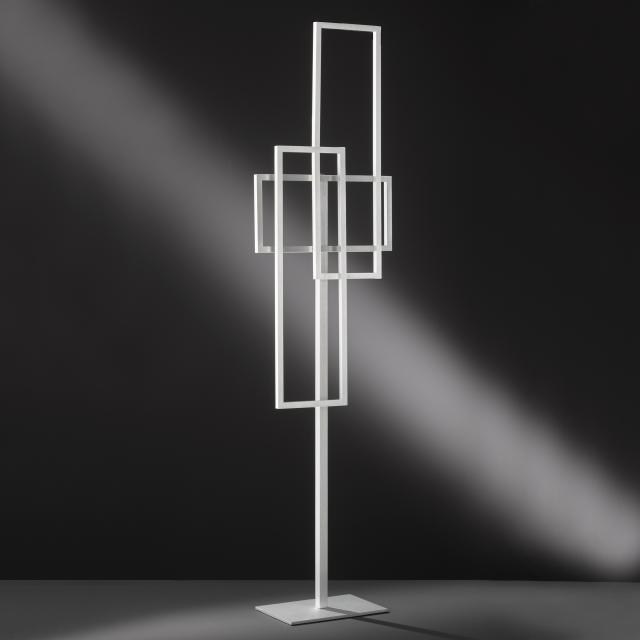 wofi Zenit/Serie 473 LED Stehleuchte mit Dimmer