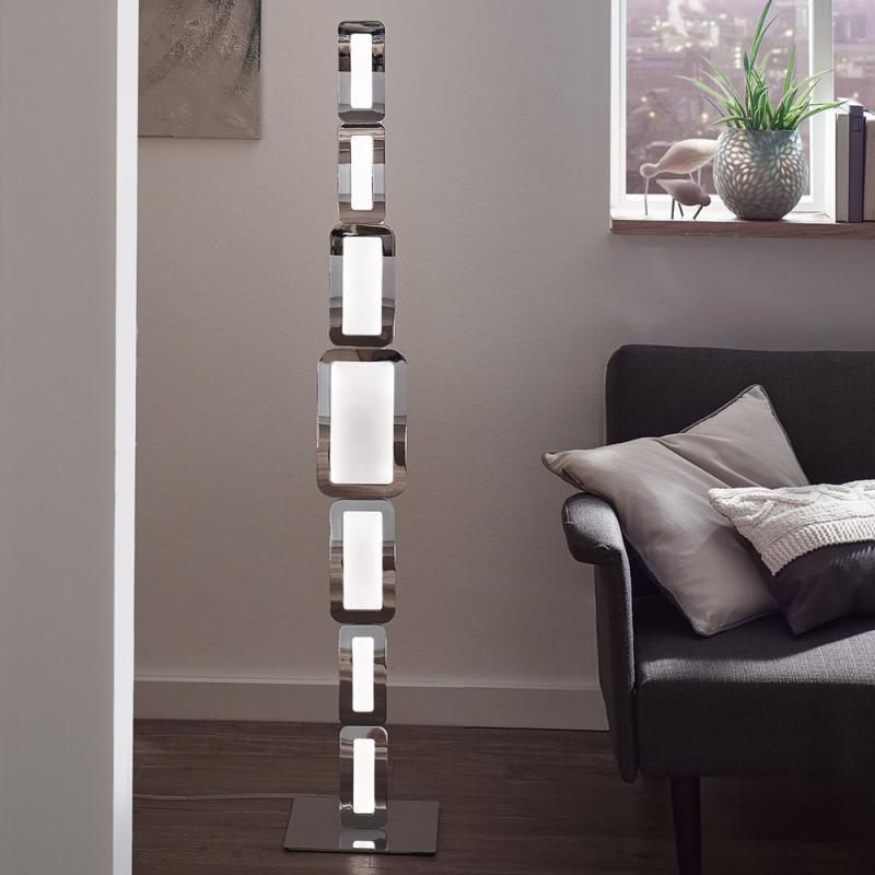 wofi led stehlampe best wofi w warmwei apart silber with. Black Bedroom Furniture Sets. Home Design Ideas