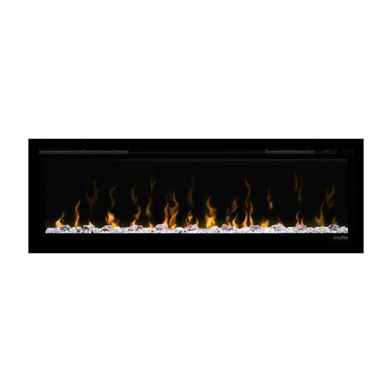 Wodtke feel the flame X-in Unterputz-Elektrokamin mit Dekorblende schwarz