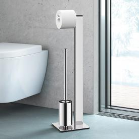 Zack ATORE Toiletten-Butler edelstahl poliert