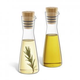 Zack BEVO Essig- und Ölflaschen Set