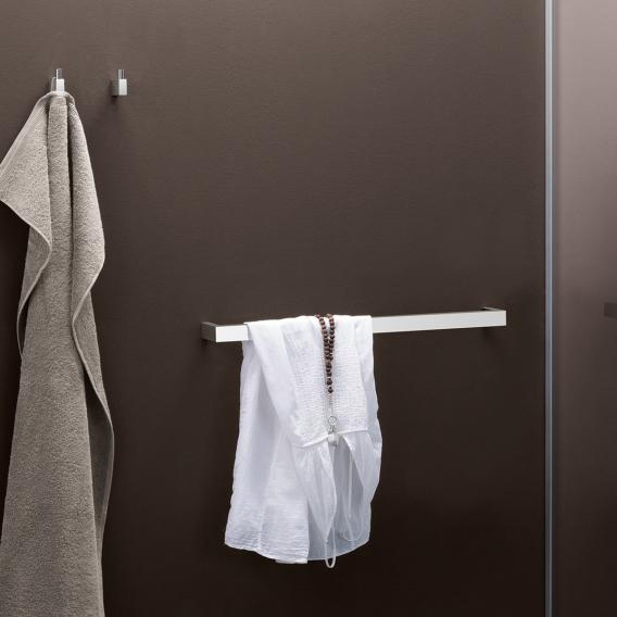 Zack LINEA Handtuchhaken klein edelstahl gebürstet