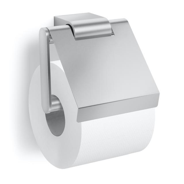 Zack ATORE Toilettenpapierhalter mit Deckel edelstahl gebürstet