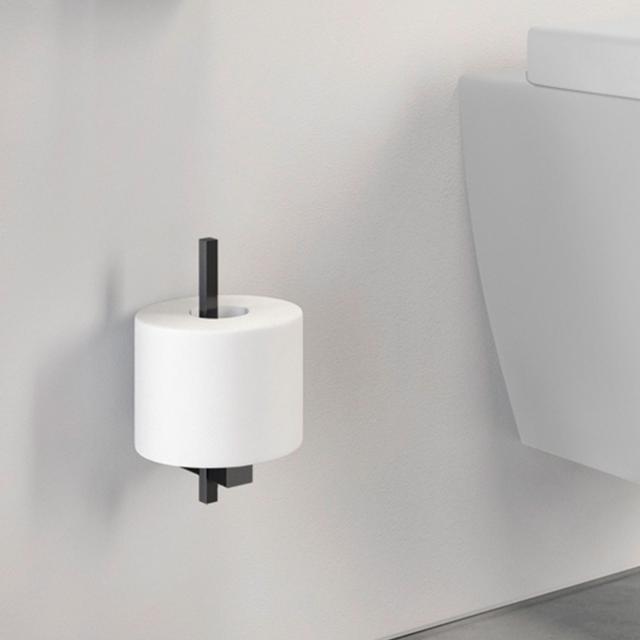 Zack CARVO Ersatz-Toilettenpapierhalter schwarz