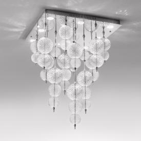 zafferano Regolo LED Deckenleuchte, 9-flammig
