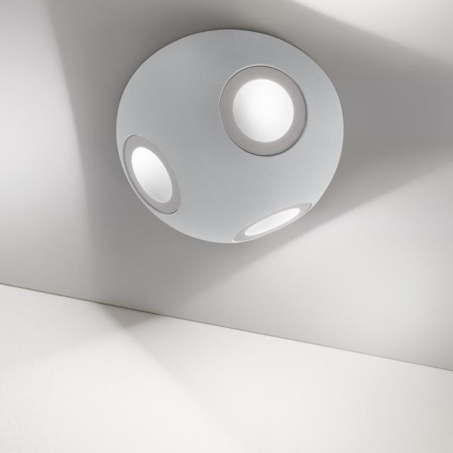 zafferano Camouflage LED Deckenleuchte, rund