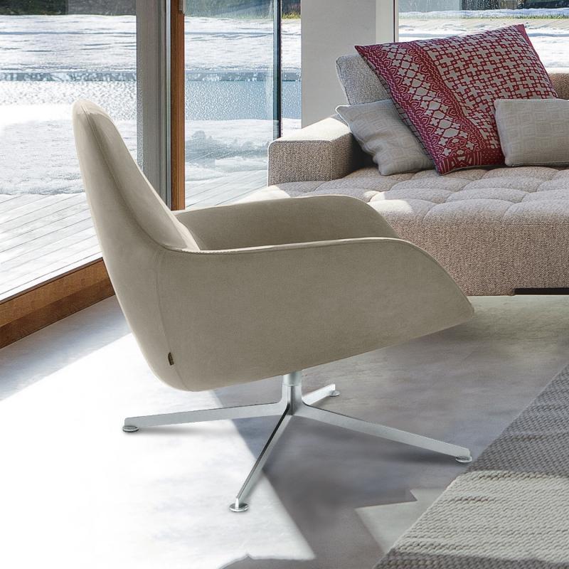 kleine ledersessel mit armen m belideen. Black Bedroom Furniture Sets. Home Design Ideas