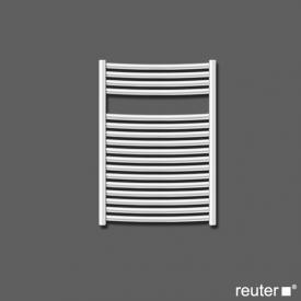 Zehnder janda Badheizkörper für Warmwasser- oder gemischten Betrieb titan Breite 495 mm, 381 Watt