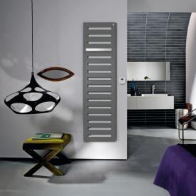 Zehnder Metropolitan Bar Badheizkörper für rein elektrischen Betrieb grau aluminium, 750 Watt