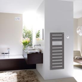 Zehnder Metropolitan Spa Badheizkörper für rein elektrischen Betrieb grau aluminium, 500 Watt