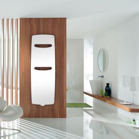 Zehnder Vitalo Spa Badheizkörper mit EasyFit Anschlussbox für Warmwasserbetrieb weiß, 869 Watt