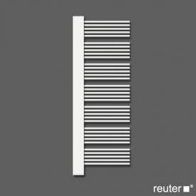 Zehnder yucca plus Badheizkörper für Warmwasser- oder gemischten Betrieb weiss Breite 582 mm, 683 Watt, Blende chrom