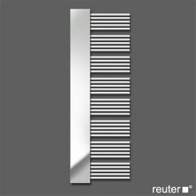 Zehnder yucca mirror Badheizkörper mit Spiegel für Warmwasser- oder gemischten Betrieb weiss Breite 600 mm, 755 Watt