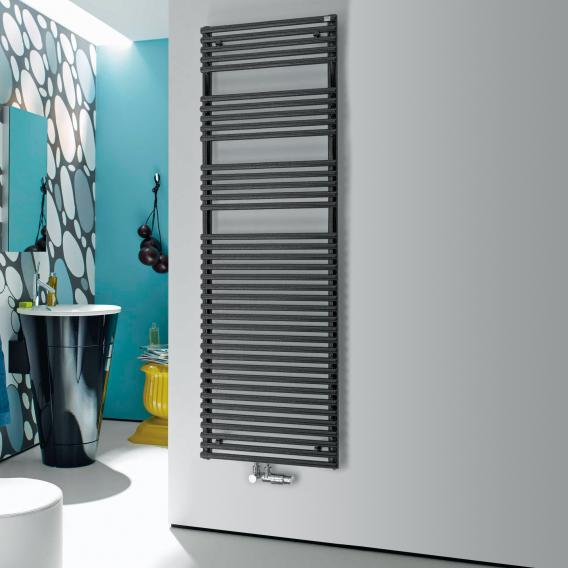 Zehnder forma Badheizkörper für Warmwasser- oder gemischten Betrieb anthrazit Breite 596 mm, 927 Watt