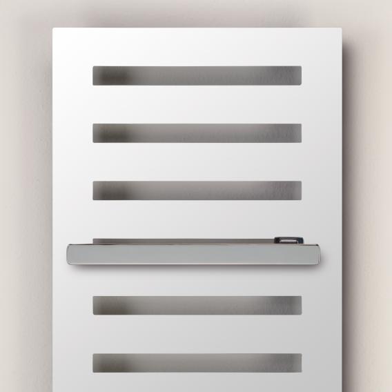 Zehnder Metropolitan Bar Badheizkörper für Warmwasserbetrieb weiß, 922 Watt, normale Ausführung
