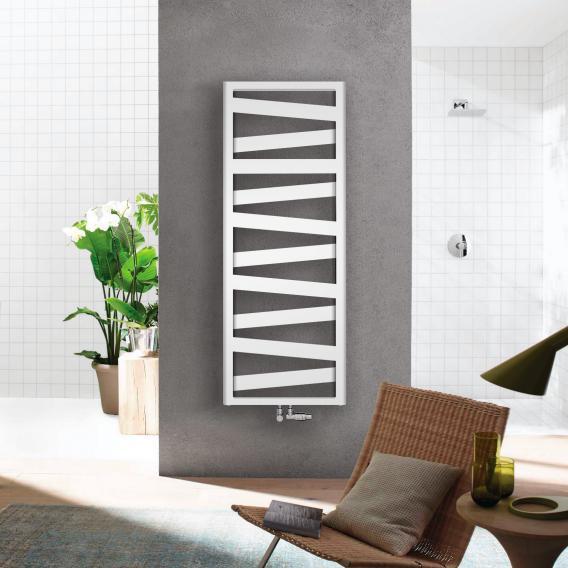 Zehnder Ribbon Badheizkörper für Warmwasser- oder Mischbetrieb weiß, 743 Watt