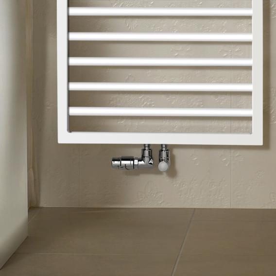 Zehnder Subway Badheizkörper für reinen Warmwasserbetrieb weiß, 898 Watt