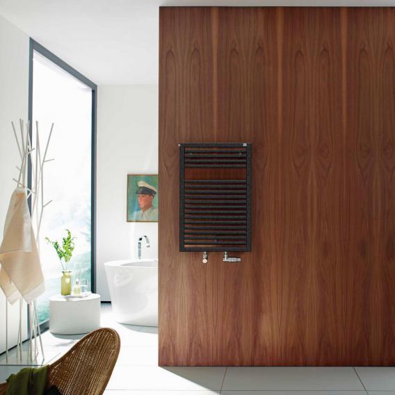 Zehnder Universal Badheizkörper für Warmwasser- oder Mischbetrieb volcanic, einlagig, 401 Watt