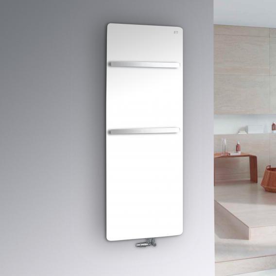 Zehnder Vitalo Bar Badheizkörper für Warmwasserbetrieb weiß, 806 Watt