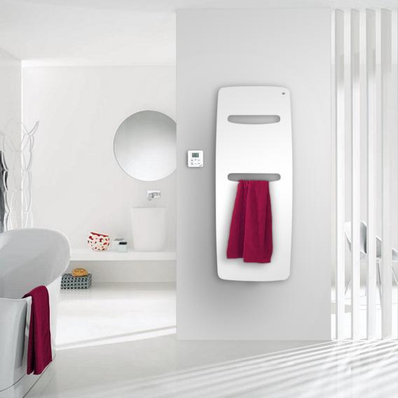 Zehnder Vitalo Spa Badheizkörper für rein elektrischen Betrieb weiß, 500 Watt