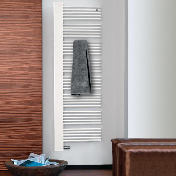 Zehnder Yucca Cover Badheizkörper für Warmwasser- oder Mischbetrieb weiß, 805 Watt, rechts, Blende weiß