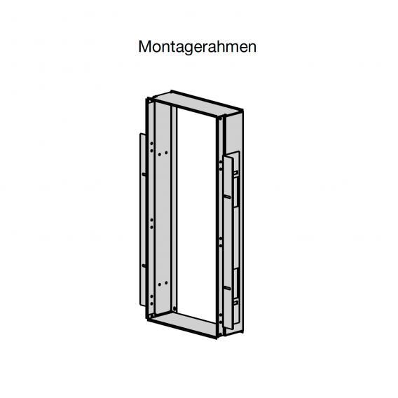 Zehnder Zenia Montagerahmen für Vorwand- und Möbelinstallation