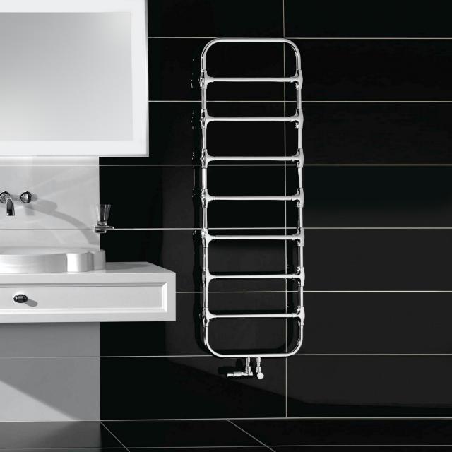 Villeroy & Boch by Zehnder Nobis Badheizkörper für Warmwasserbetrieb chrom, 288 Watt