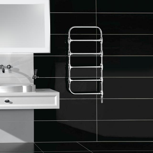 Villeroy & Boch by Zehnder Nobis Badheizkörper für rein elektrischen Betrieb chrom, 150 Watt