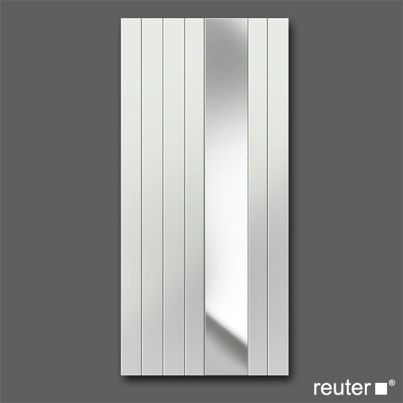 Zehnder nova mirror Badheizkörper grau Aluminium Breite 638 mm, 732 Watt