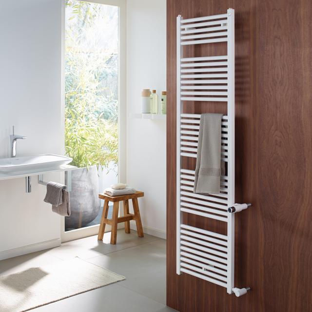 Zehnder Zeno Badheizkörper als Austauschmodell für Warmwasser- oder Mischbetrieb weiß, NA 50 cm, 509 Watt