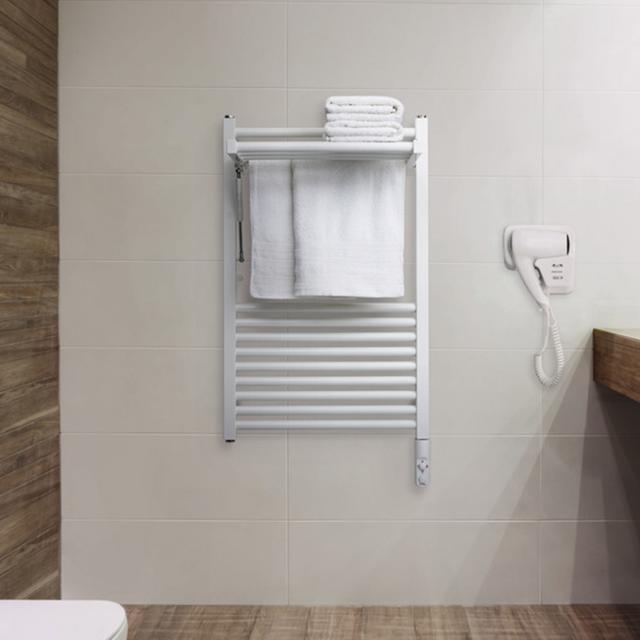 Zehnder Zeno Wing Badheizkörper für rein elektrischen Betrieb weiß, 300 Watt