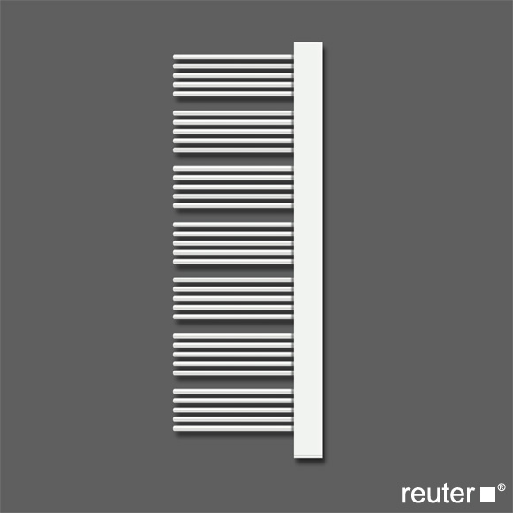 zehnder yucca plus badheizk rper f r warmwasser oder gemischten betrieb wei breite 582 mm 805. Black Bedroom Furniture Sets. Home Design Ideas