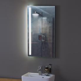 Zierath Aledo Plus Lichtspiegel mit seitlicher LED-Beleuchtung