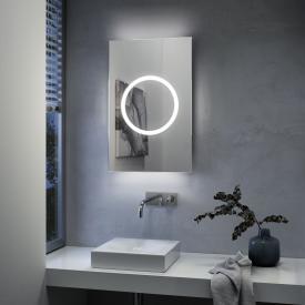 Zierath Moon Pro 2.0 Deluxe Lichtspiegel mit LED-Beleuchtung