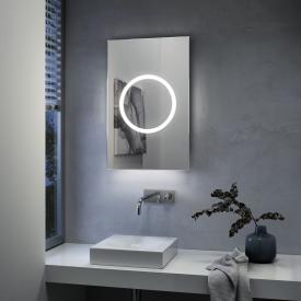Zierath Moon Pro 2.0 Premium Lichtspiegel mit LED-Beleuchtung
