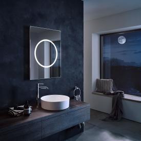 Zierath Moon Pro Lichtspiegel mit LED-Beleuchtung