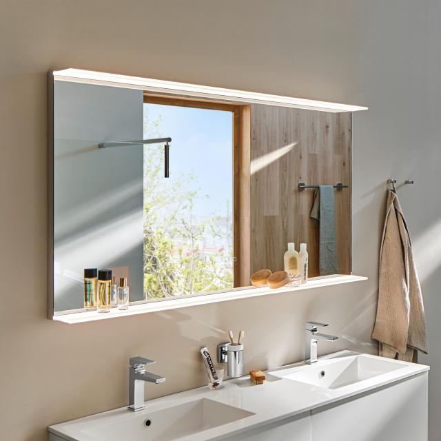 Zierath Avela Lichtspiegel mit LED-Beleuchtung und Ablage mit Touch-Display