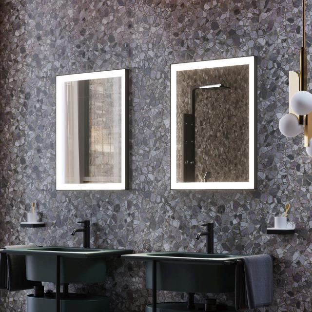 Zierath Frame Lichtspiegel mit LED-Beleuchtung