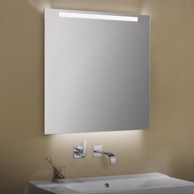 Zierath Garda Lichtspiegel mit LED-Beleuchtung mit Sensorschalter, Lichtfarbe einstellbar