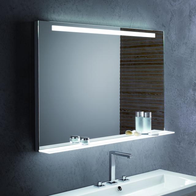 Zierath Garda Lichtspiegel mit LED-Beleuchtung und Ablage mit Sensorschalter