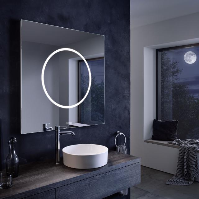 Zierath Moon Lichtspiegel mit LED-Beleuchtung mit Touch-Display